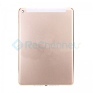 For iPad (5th Gen) Rear Housing Replacement (Wi-Fi + Cellular) - Gold - Grade S