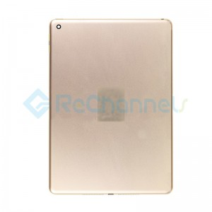 For iPad (6th Gen) Rear Housing Replacement (Wi-Fi) - Gold - Grade S