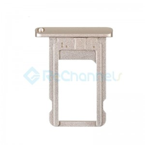For iPad (6th Gen) SIM Card Tray Replacement - Gold - Grade R