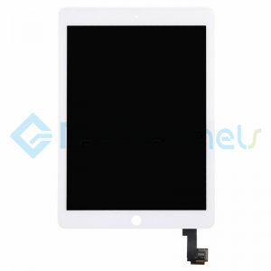 For Apple iPad Air 2 LCD Screen and Digitizer Assembly Replacement - White - Grade S+