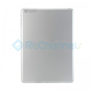 For iPad Air Rear Housing Replacement (Wi-Fi) - Silver - Grade S