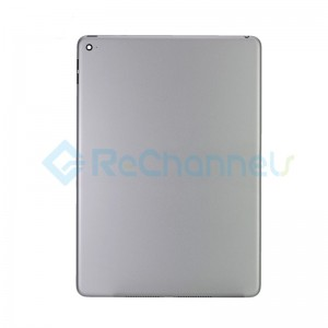 For iPad Air 2 Rear Housing Replacement (Wi-Fi) - Space Gray - Grade S