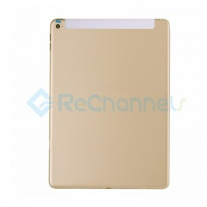 For iPad Air 2 Rear Housing Replacement (Wi-Fi + Cellular) - Gold - Grade S