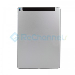 For iPad Air 2 Rear Housing Replacement (Wi-Fi + Cellular) - Space Gray - Grade S