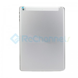 For iPad Air Rear Housing Replacement (Wi-Fi + Cellular) - Silver - Grade S