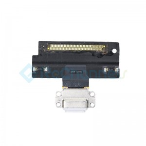 For iPad Air 3 Charging Connector Flex Cable Replacement - White - Grade S+