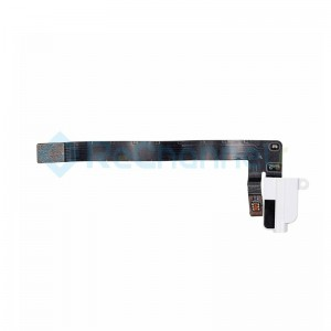 For iPad Air 3 Headphone Jack Flex Cable Replacement (WiFi Version) - White - Grade S+