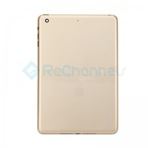 For Apple iPad Mini 3 Rear Housing Replacement (WiFi ) - Gold - Grade S
