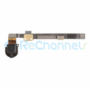 For Apple iPad Mini/Mini 2/Mini 3 Audio Flex Cable Ribbon Replacement - Black - Grade S+