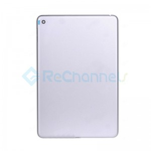 For Apple iPad Mini 4 Rear Housing Replacement (WiFi) - Silver - Grade S