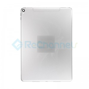 For iPad Pro 10.5 Rear Housing Replacement (Wi-Fi + Cellular) - Silver - Grade S