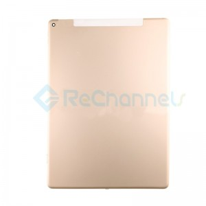 For iPad Pro 12.9 (1st Gen) Rear Housing Replacement (Wi-Fi + Cellular) - Gold - Grade S