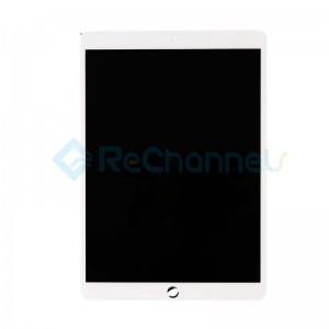 For iPad Pro 12.9 (2nd Gen) LCD Screen and Digitizer Assembly Replacement - White - Grade S+