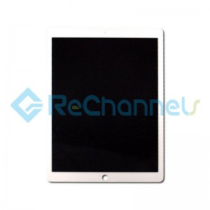 For Apple iPad Pro 12.9 (2015) A1584 / A1652 LCD Screen and Digitizer Assembly Replacement - White - Grade S+
