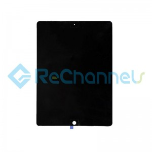 For Apple iPad Pro 12.9 (2017) A1670 / A1671 LCD Screen and Digitizer Assembly Replacement - Black - Grade S+