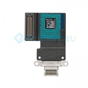 For iPad Pro 11 USB Charging Connector Flex Cable Replacement - White - Grade S+