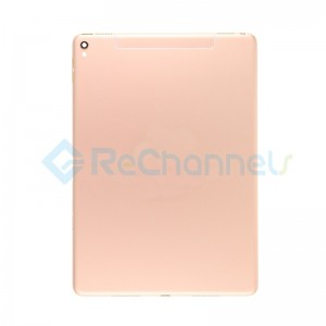 For iPad Pro 9.7 Rear Housing Replacement (Wi-Fi + Cellular) - Gold - Grade S