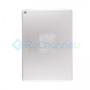 For iPad Pro 9.7 Rear Housing Replacement (Wi-Fi + Cellular) - Silver - Grade S