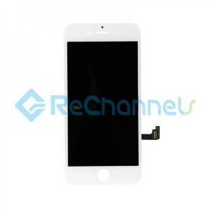 For Apple iPhone 8\SE(2020) LCD Screen and Digitizer Assembly Replacement - White - Grade R