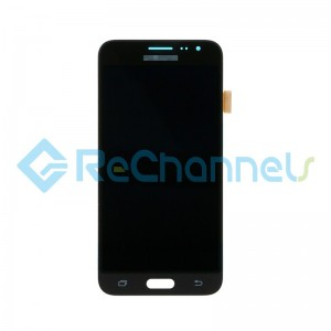 For Samsung Galaxy J3 (2016) SM-J320F LCD Screen and Digitizer Assembly Replacement - Black - Grade S