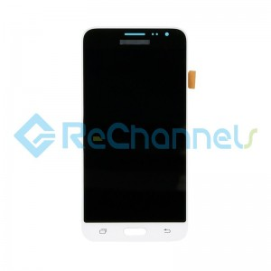 For Samsung Galaxy J3 (2016) SM-J320F LCD Screen and Digitizer Assembly Replacement - White - Grade S