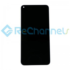 For Huawei Honor View 20 LCD Screen and Digitizer Assembly Replacement - Black - Grade S+
