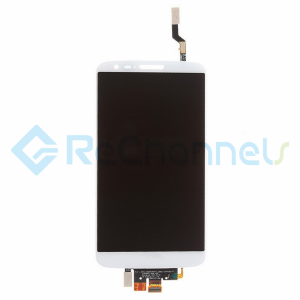 For LG G2 D802 LCD Screen and Digitizer Assembly Replacement - White - Grade S+