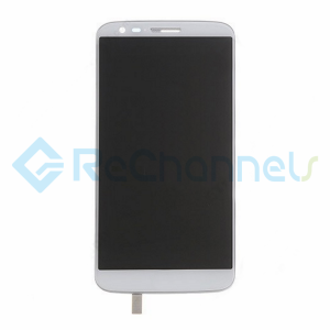 For LG G2 LCD Screen and Digitizer Assembly with Front Housing Replacement - White - Grade S+