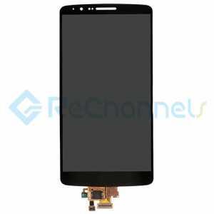 For LG G3 LCD Screen and Digitizer Assembly Replacement - Black - Grade S+