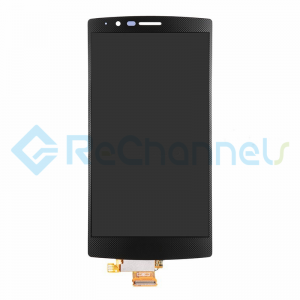 For LG G4 LCD Screen and Digitizer Assembly Replacement - Black - Grade S+