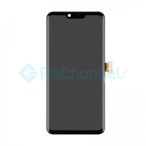 For LG G8 ThinQ LCD Screen and Digitizer Assembly Replacement - Black - Grade S+