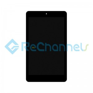 For LG G Pad 4 8.0 FHD V533 LCD Screen and Digitizer AssemblyReplacement - Black - Grade S+