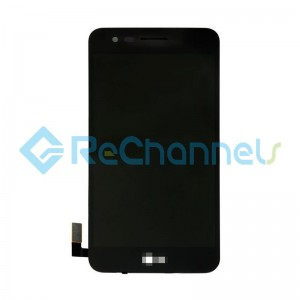 For LG K4 (2017) LCD Screen and Digitizer Assembly with Front Housing Replacement - Black - Grade S+