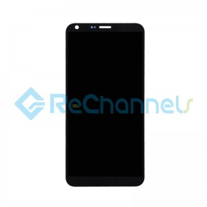 For LG Q6 LCD Screen and Digitizer Assembly Replacement - Black - Grade S+