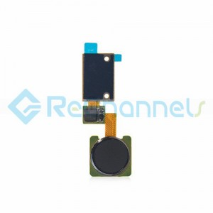 For LG V10 Finger Print Sensor Flex Cable Ribbon Replacement - Black - Grade S+