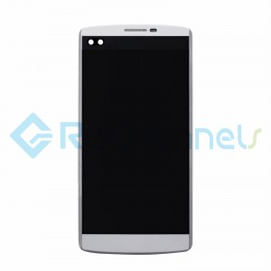 For LG V10 LCD Screen and Digitizer Assembly with Front Housing Replacement - White - Grade S+