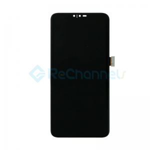 For LG V40 ThinQ LCD Screen and Digitizer Assembly Replacement - Black - Grade S+