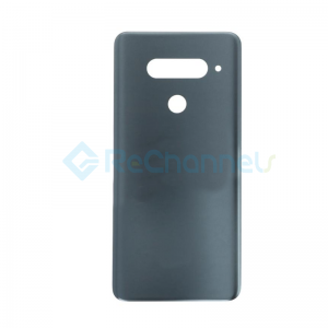For LG V40 ThinQ Battery Door Replacement - Gray - Grade S+