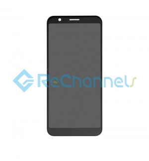 For Asus Zenfone Max (ZB555KL) LCD Screen and Digitizer Assembly Replacement - Black - Grade S