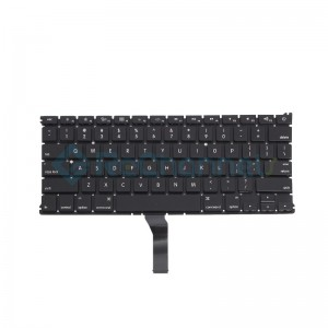 "For MacBook Air 13"" A1466 (Mid 2012 - Early 2015) Keyboard (US English) Replacement - Grade S+"