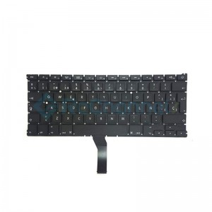 """For MacBook Air 13"""" A1466 (Mid 2012 - Early 2015) Keyboard (Spanish English) Replacement - Grade S+"""