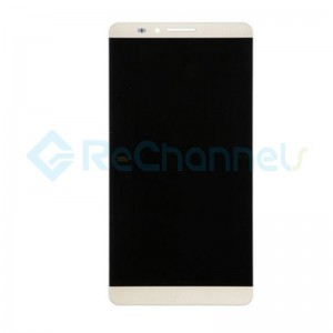 For Huawei Ascend Mate 7 LCD Screen and Digitizer Assembly Replacement - Gold - Grade S+