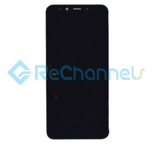 For Xiaomi Mi 6 LCD Screen and Digitizer Assembly with Front Housing Replacement - Black - Grade S+