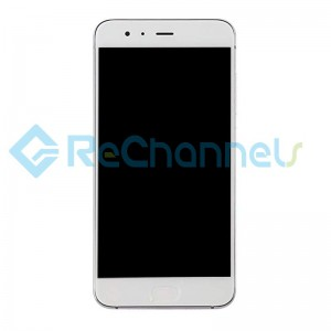 For Xiaomi Mi 6 LCD Screen and Digitizer Assembly with Front Housing Replacement - White - Grade S+