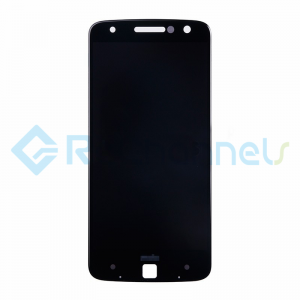 For Motorola Moto Z LCD Screen and Digitizer Assembly Replacement - Black - Grade S+
