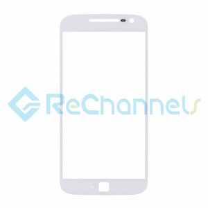 For Motorola Moto G4 Plus Glass Lens Replacement - White - Grade R