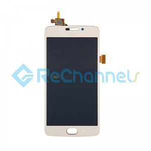 For Motorola Moto G5 LCD Screen and Digitizer Assembly Replacement - Gold - Grade S