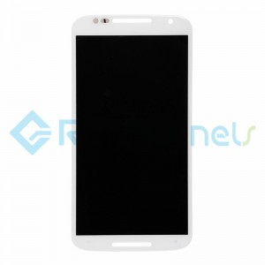 For Motorola Moto X (2nd Gen) LCD Screen and Digitizer Assembly Replacement - White - Grade S+