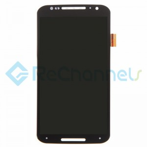 For Motorola Moto X (2nd Gen) LCD Screen and Digitizer Assembly Replacement - Black - Grade S+