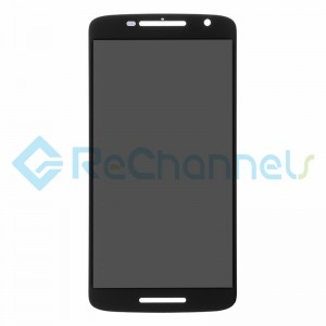 For Motorola Moto X Play LCD Screen and Digitizer Assembly Replacement - Black - Grade S+